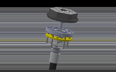 Беспроводной датчик контроля уровня топлива и качества вождения транспорта ДУТ-КВ-Р01