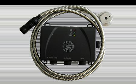Бесконтактный ультразвуковой датчик уровня топлива