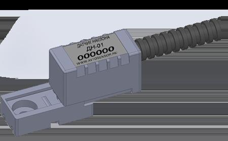 Двухканальный датчик контроля угла наклона ДН-01